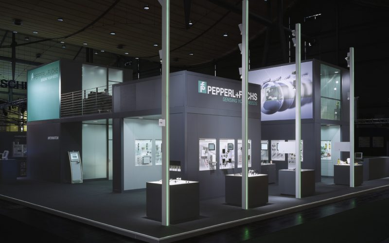 Messestand Hannover_Messe_2006